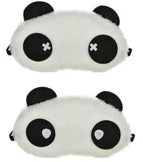 Jenna  Water Cross Panda Sleeping Blindfold Eye Mask(Pack Of 2)