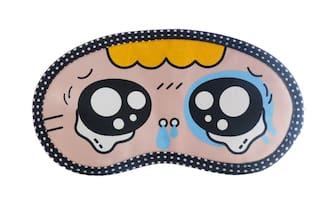 Jenna   Y_TearyEye Cartoon Face Sleeping Eye Mask