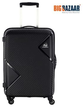 Kamiliant by American Tourister Cabin Size Hard Luggage Bag - Black , 4 Wheels