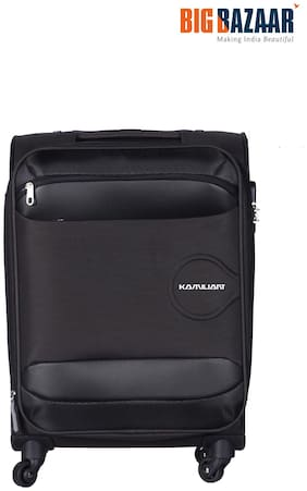 Kamiliant by American Tourister Large Size Soft Luggage Bag - Brown , 4 Wheels