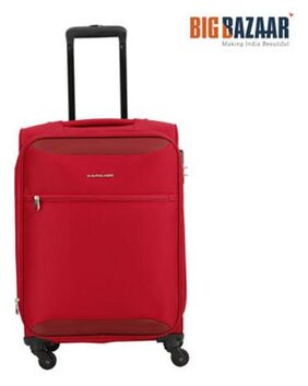 Kamiliant by American Tourister Zaka Spinner Soft Trolley 56 cm (Maroon)