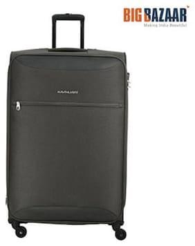 Kamiliant by American Tourister Zaka Medium Size Soft Luggage Bag ( Grey , 4 Wheels )
