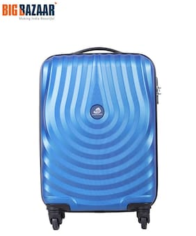 Kamiliant by American Tourister Cabin Size Hard Luggage Bag - Blue , 4 Wheels