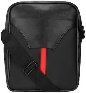 KAMVIEW Black Faux leather Sling bag