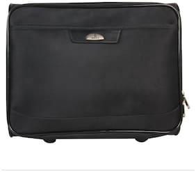 Kara Black Color 14 inch Two Wheeler Trolley Bag