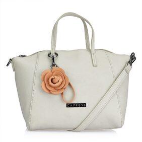 CAPRESE Women Faux Leather Handheld Bag - White