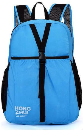 Kekemi Blue Polyester Backpack
