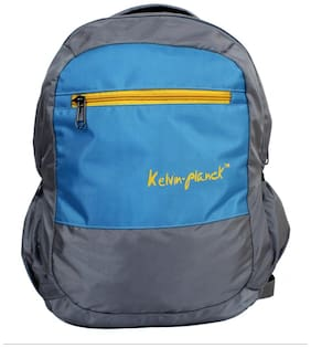 Kelvin Planck Silver Laptop Backpack-for-  HP Notebook 15-ac121tx