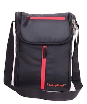 Kelvin Planck Black Side Bag