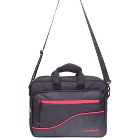 Kelvin Planck Black Office Laptop Bag