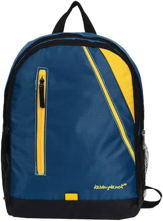 Kelvin Planck Blue Waterproof Polyester Backpack