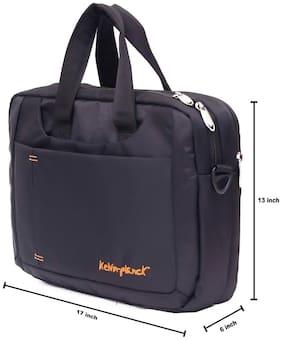 Kelvin Planck Convertible Black Office  Laptop Bag