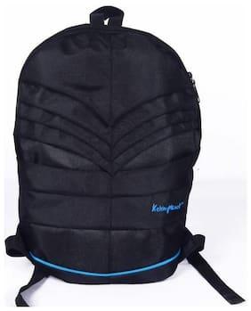 Kelvin Planck Black Waterproof Polyester Backpack