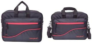Kelvin Planck Black Office Laptop Bag