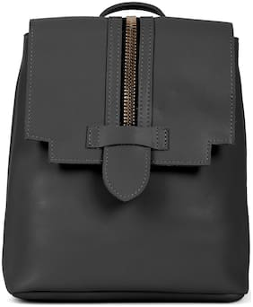 Kielz Black Synthetic Backpack