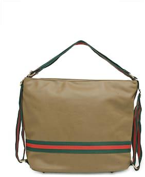 Kielz Khaki Women Shoulder Bag