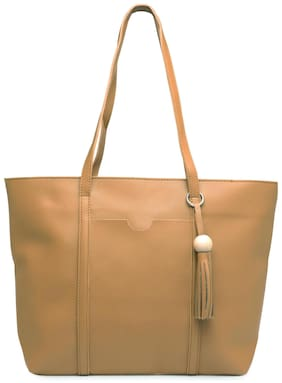 Kielz Khaki Women Shoulder Bag