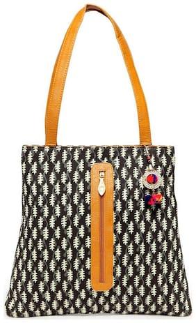 Kielz Women Floral Fabric - Tote Bag Multi