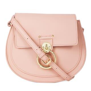 Kielz Women Solid Synthetic - Crossbody Bag Pink