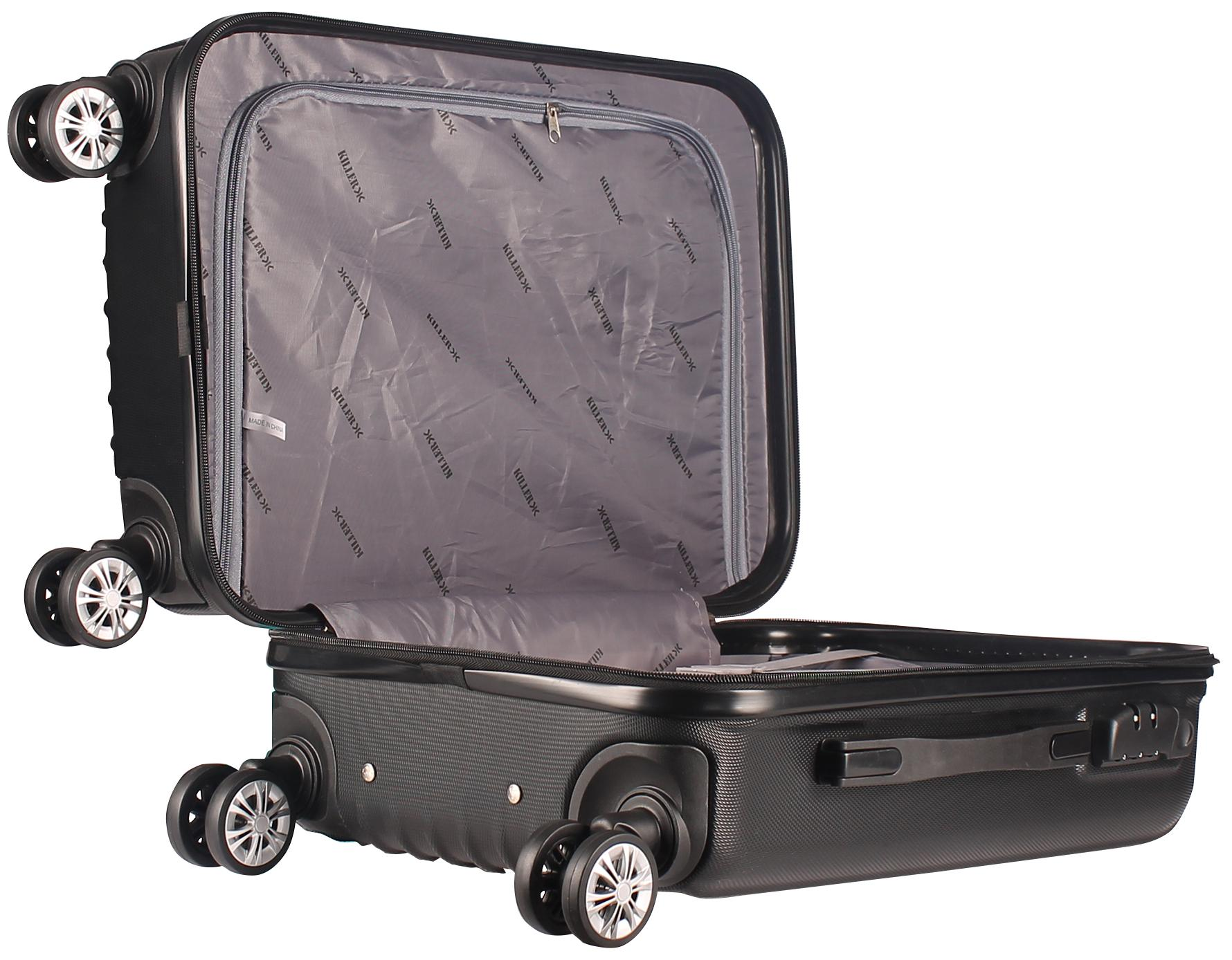 eeb8ed2252a Buy KILLER ABS 55 Cm Black Hard Sided Check-In Luggage Bag Online at Low  Prices in India - Paytmmall.com