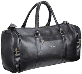 Killer Barbados 34 L Black Pu Stylish Duffle Bag