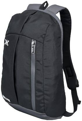 Killer Black Polyester Backpack