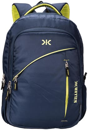 Killer Blue Polyester Backpack
