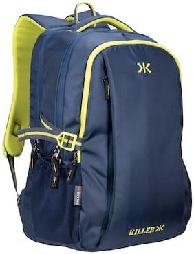 Killer Blue Polyester Backpack