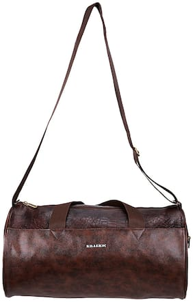 Killer Royal Pu 21 Litre Stylish Brown Gym Bag