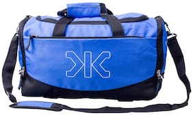 Killer Royal Blue Polyester Travel Duffel Bag