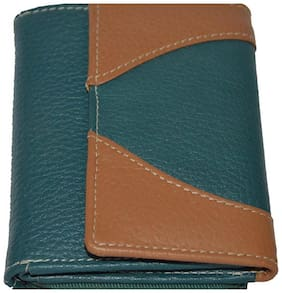 Knott Women Leather Wallet - Blue