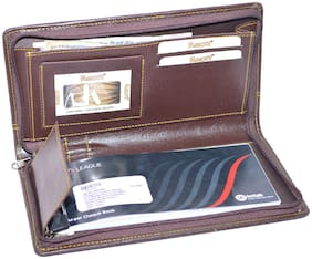 Knott Executive Brown Cheque book holder