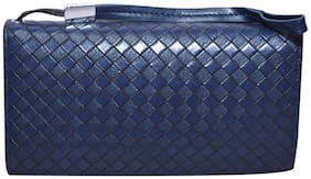 Knott Women PU Wallet - Blue