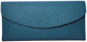 Knott Women PU Wallet - Green