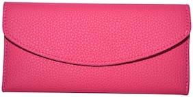 Knott Women PU Wallet - Pink