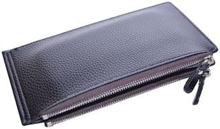 Knott Women PU Wallet - Black