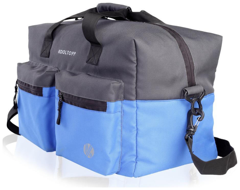 Kooltopp Walter Duffel Bag, Unisex Travel Duffel Bag   Blue