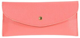 Wallet Card Package Purse Faux Leather Envelope Candy(09)