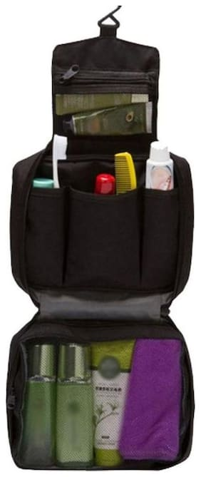 kudos Travel Bag Toiletries Portable Storage Bathroom Organizer for Women Makeup or Men Shaving Kit
