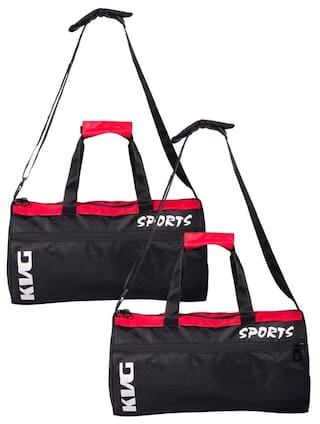 b7f14f017374 Buy Kvg Rider Pack Of 2 Gym Bag Online at Low Prices in India ...