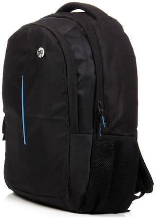 HP Black Polyester Laptop Backpack