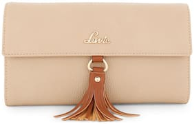 Lavie Beige Women Small Wallets