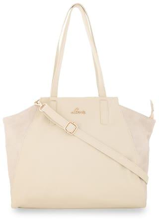 LAVIE Leather Women Handheld bag - Beige