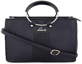 LAVIE Black Faux Leather Handheld Bag