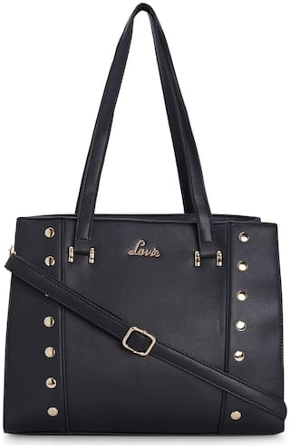LAVIE Black PU Satchel