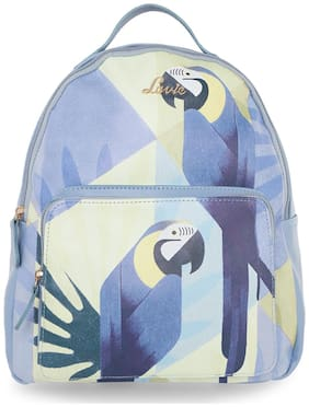 LAVIE Blue Faux Leather Backpack