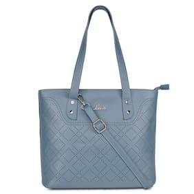 LAVIE Blue PU Handheld Bag