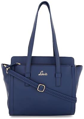 LAVIE Faux leather Women Handheld bag - Blue