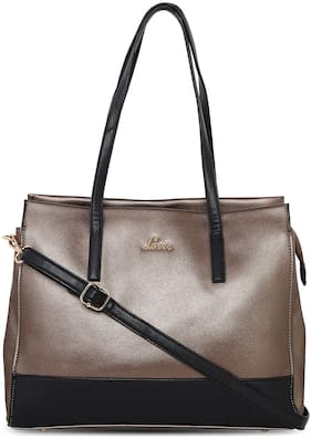 LAVIE Brown PU Satchel