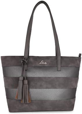 LAVIE Grey PU Shoulder Bag
